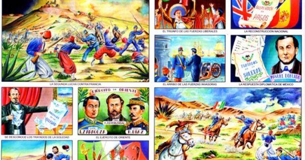La Batalla Del Cinco De Mayo 5 De Mayo Monografias Escolares