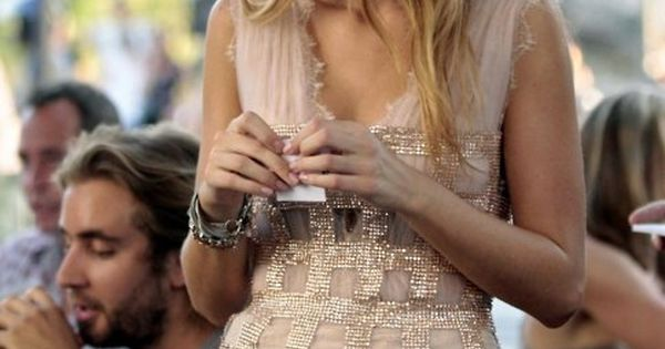 Blake Lively. She's my favorite, so is the dress.