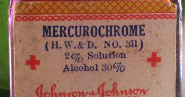Mercurochrome -remember this from when I was a kid. Monkey Blood is
