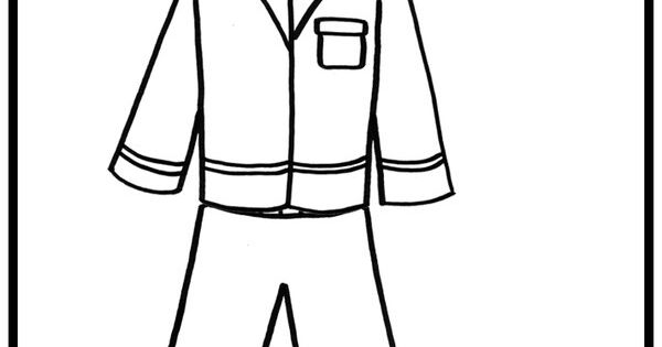 pajama theme coloring pages - photo#4