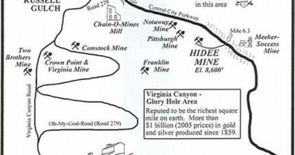 Image Result For Black Hawk Colorado Map