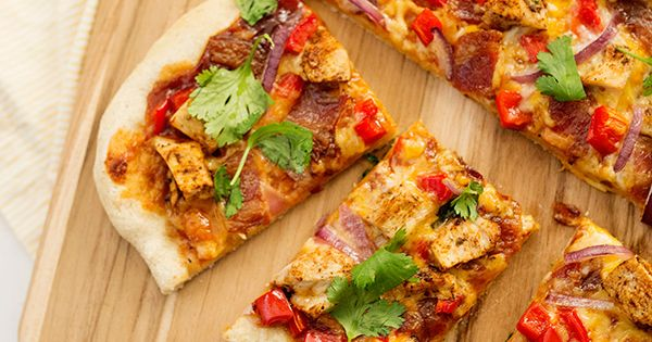 Sheet Pan BBQ Chicken Pizza | Recipe