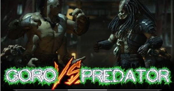 Mortal Kombat X Goro Vs Predator Mortal Kombat X Ps4 Gameplay