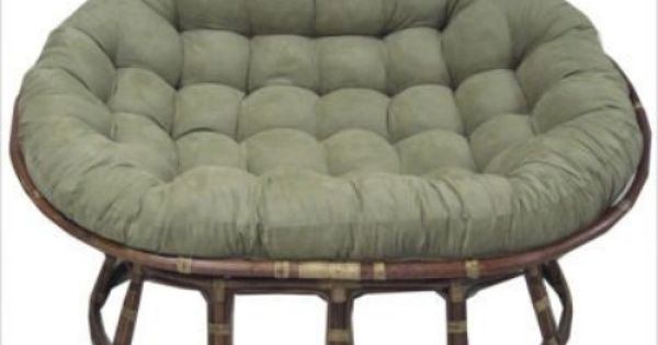Extra large papasan chair for the home pinterest for Large papasan chair