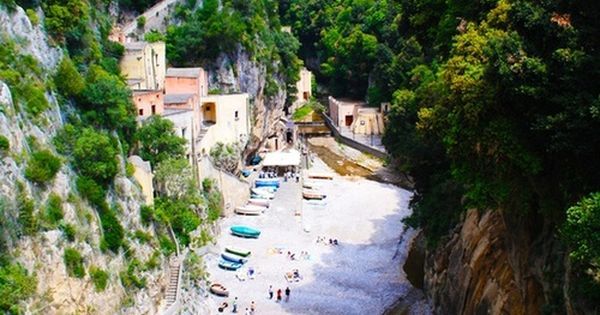 Hidden Beach, Furore, Italy, Travel to beautiful places, Inspiration, www.yogahealthretreats.com