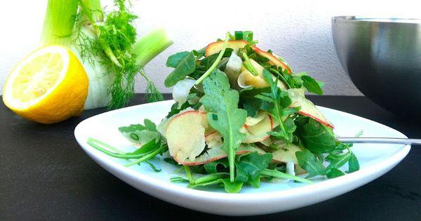 Brooklyn Salt : Arugula Fennel Apple Salad with Chives | yum | salad ...