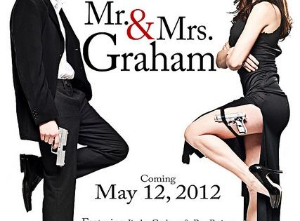 ha! save the date... OMG. Movie Poster Card Wedding invitations? Down.