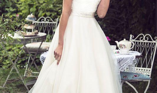 Brighton Belle Tea Length Wedding Dress
