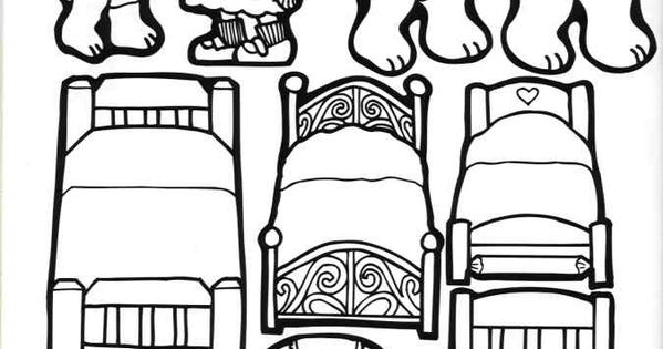 free goldilocks coloring pages - photo#37