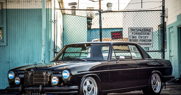 Mercedes benz w 114 coup my dream garage pinterest for Garage mercedes var 83