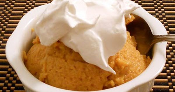 Slow Cooker Sunday - Pumpkin Pie Pudding