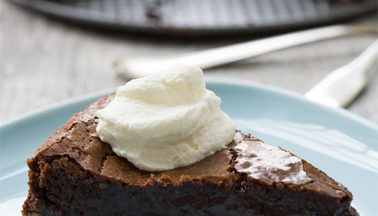 Chocolate Peanut Butter Chess Pie | Love and Olive Oil. This looks
