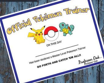 This Is A Listing For A Pokemon Print It Yourself Pin The Tail On Pikachu Game That Coordinates Wi Pokemon Party Favors Pokemon Party Pokemon Party Decorations