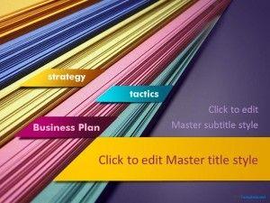 Plantilla De Plan De Negocios Ppt Gratis Free Business Plan Business Plan Template Business Planning