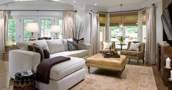 candice olson living room ideas - Google Search