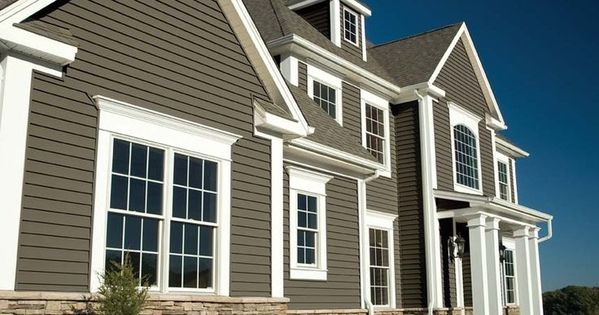 Exterior siding colors great with images of exterior for Cheap siding options