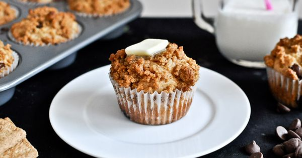 Graham Cracker Chocolate Chip Muffins. better health solutions healthy eating organic health