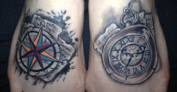 windrose und taschenuhr tattoo meins tattooworld pinterest tattoos and body art. Black Bedroom Furniture Sets. Home Design Ideas
