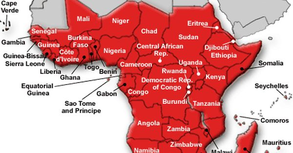 Map Of Subsaharan Africa This is a map of geography Sub Saharan. | Sub saharan africa map
