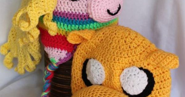 Jake the dog and his Lady Rainicorn hats from the Cartoon ...