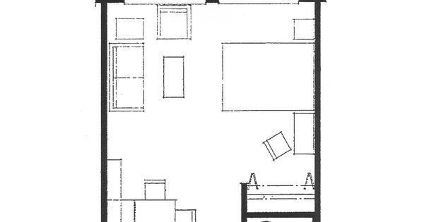 Small studio apartment floor plans tacoma lutheran for Garage studio apartment ideas