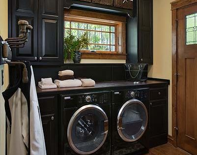 Laundry room ideas. Love the colors! Would love that countertop and window!!