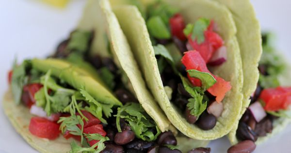Slow cooked black bean tacos {Beard and Bonnet} mexicanfood