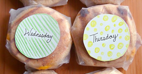 Project Preparation: Healthy Breakfast Sandwiches To-Go All Week Long! (all natural &