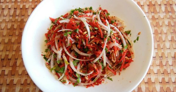 Burmese Ginger Salad | Salads | Pinterest | Burmese, Salads and Html