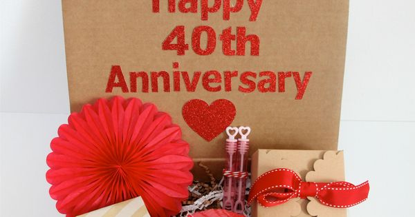 What Gift For 40th Wedding Anniversary: 40th Anniversary Gift Idea