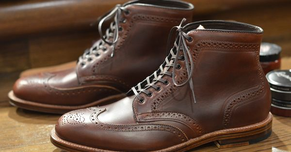 Alden for LSH Barrie wingtip boot - love these