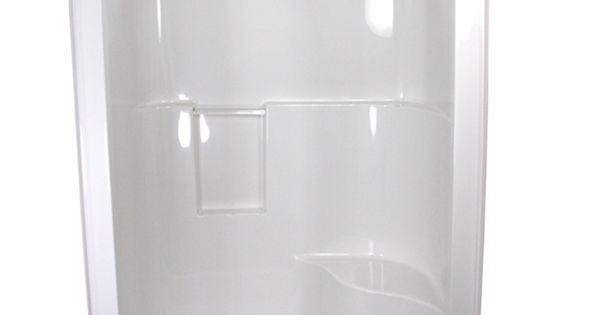 one piece fiberglass shower stalls