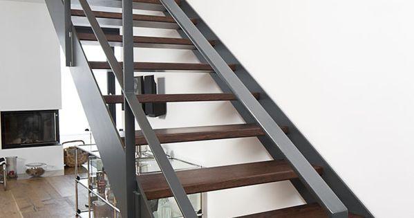 stahltreppe 5 treppenbau voss gel nder innen. Black Bedroom Furniture Sets. Home Design Ideas