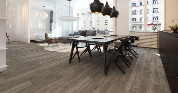 Landelijk houtlook vloertegel tegels pinterest tegels en badkamer - Badkamer muur tegels porcelanosa ...