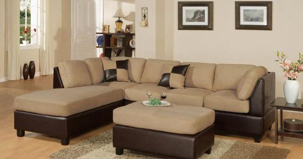 California Reversible Sectional Sofa & Ottoman - CHEAP VANCOUVER