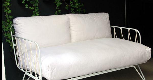 Honor d coration fauteuils et tabourets banquette 50 39 s meubles pinterest chaises for Banquette sahel