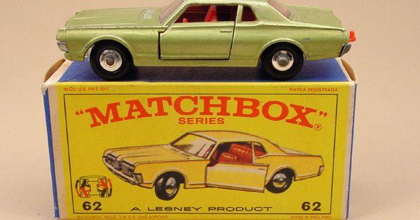 Matchbox Mercury Cougar 1 64 Toys Pinterest Matchbox