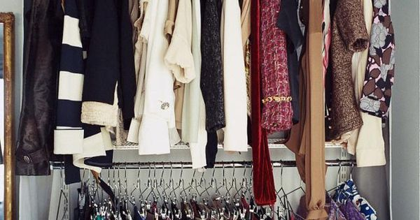 Creative ways to store clothes without a closet