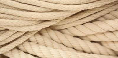 Cotton Rope Twisted Braided 1 4 1 Inch Sizes Craft Suppliers Knots Tutorial Cotton Rope