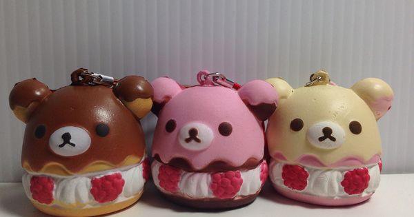 Bunny Cream Puff Squishy : Rilakkuma Cream Puff Squishy squishies =^.^= Pinterest Products, Kawaii and Fake food