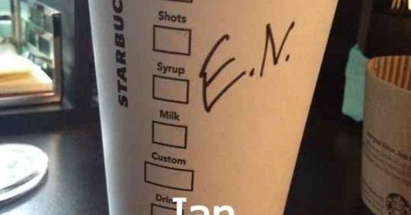 When Ian became E.N. | 27 Times Starbucks Failed So Hard It