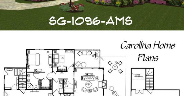Small craftsman cottage house plan compact yet spacious for Small craftsman house plans with garage