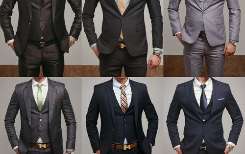 I love men's suits. Makes a man so much sexier.