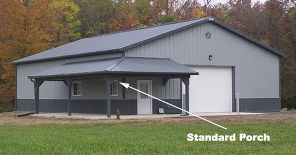 Standard Porches Buildings Structures Metal Steel Pole