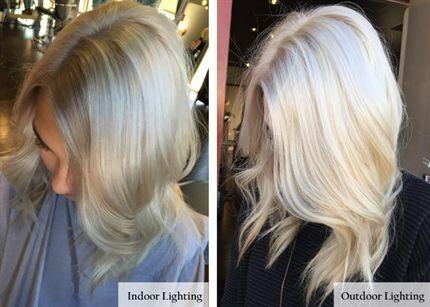 Vanilla Ice Color Formula Platinum Blonde Hair Ice Blonde Hair