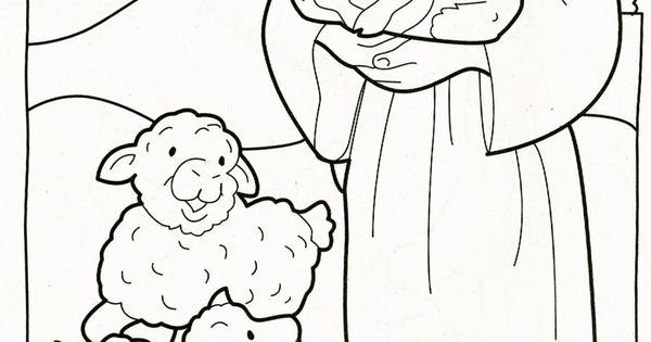 The lord is my shepherd coloring page coloring pages for The lord is my shepherd coloring page