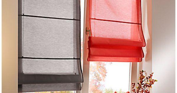 raffrollo gardinen pinterest raffrollo gardinen und vorh nge. Black Bedroom Furniture Sets. Home Design Ideas