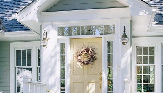 Love this door color - 55 Different Front Door Inspiration Ideas {in