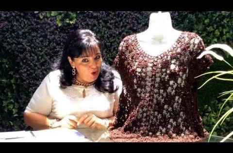 Facil De Tejer Blusa Con Laura Cepeda