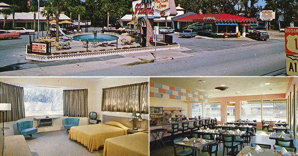 Palms motor inn restaurant pancake house st augustine fl for Century motors of south florida